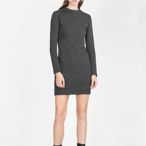 Grey Zara sweater dress